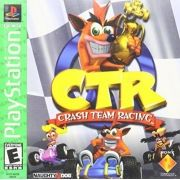 Crash Team Racing CTR Ps1 Original Americano Completo