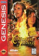 Cutthroat Island - Ilha da Garganta Cortada Mega Drive 100% Original