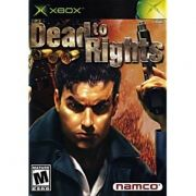Dead To Rights  Xbox Clássico Original Americano Completo