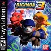 Digimon World 3 Ps1 Original Americano Completo Rare+