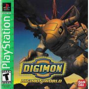 Digimon World Ps1 Original Americano Completo Rare+