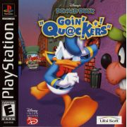 Donald Duck Going Quackers Ps1 Original Americano Completo