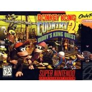 Donkey Kong Country 2: Diddy's Kong Quest Super Nintendo 100% Original Americano