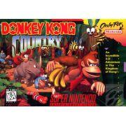 Donkey Kong Country Super Nintendo 100% Original
