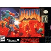 DOOM Super Nintendo 100% Original