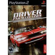Driver Parallel Lines Ps2 Original Americano Completo