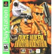 Duke Nukem Time To Kill Ps1 Original Americano Completo