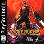 Duke Nukem Total Meltdown Ps1 Original Americano Completo