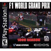 F1 World Grand Prix 1999 Ps1 Original Americano Completo