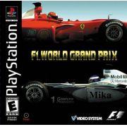 F1 World Grand Prix 2000 Ps1 Original Americano Completo