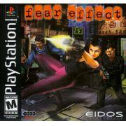 Fear Effect Ps1 Original Americano Completo