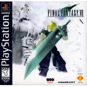 Final Fantasy 7 Ps1 Original Americano Completo Black Label