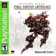 Final Fantasy Anthology  Ps1 Original Americano Completo