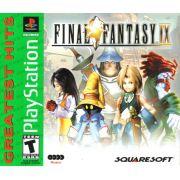 Final Fantasy IX - 9 Ps1 Original Americano Completo