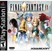 Final Fantasy IX - 9 Ps1 Original Americano Completo Black Label