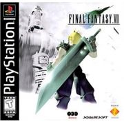 Final Fantasy VII Black Label (FF7) Ps1 Original Americano Completo