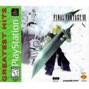 Final Fantasy VII Greatest Hits Ps1 Original Americano Completo