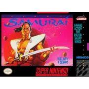 First Samurai Super Nintendo 100% Original Americano