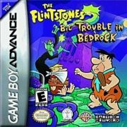 Flintstones Big Trouble In Bedrock GBA Original