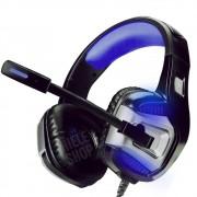 Fone Headset Gamer 7.1 Com Microfone Infokit Soldado Ultra com plugue P2