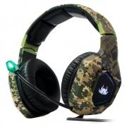 Fone Headset Gamer Com Microfone Knup GA02 Super Bass 7.1 com plugue P3