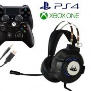 Fone Headset Gamer Com Microfone Knup Kp-GA03 Ultra com plugue P2