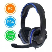 Fone Headset Gamer Com Microfone Ultra com plugue P2 Pc Xbox One Celular Fone Universal