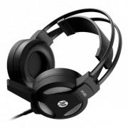 Fone Headset Gamer P2 Com Microfone H100 Preto