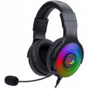 Fone Headset Gamer Redragon Pandora 2 RGB Pc, Ps4 Xbox One Conexão P3