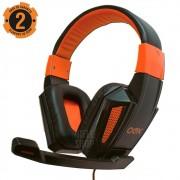 Fone Headset Pc Gamer Microfone P2 Controle De Volume Haste ajustável Super Bass