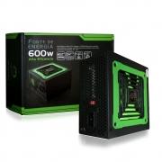 Fonte 600W Real ATX com 24 pinos 20/24 One Power