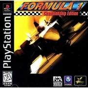 Formula 1 Championship Edition Ps1 Original Americano