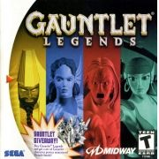 Gauntlet Legends Dreamcast Original Americano Completo