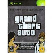 Grand Theft Auto Double Pack  Xbox Clássico Original Americano Completo