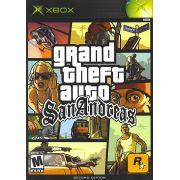 Gta San Andreas Xbox Clássico Original Americano Com Manual