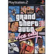 Gta Vice City Ps2 Original Americano Completo com Mapa