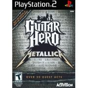 Guitar Hero Metallica Ps2 Original Americano Completo Rare+