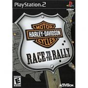 Harley Davidson Race to the Rally Ps2 Original Americano Completo