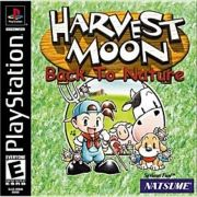 Harvest Moon Back To Nature Ps1 Original Americano Completo