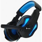 Headset Gamer Evolute Thoth Led Azul EG-305BL