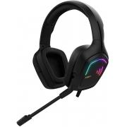 Headset Gamer Gamdias Hebe E2 Alto falantes de 40mm RGB Super Bass