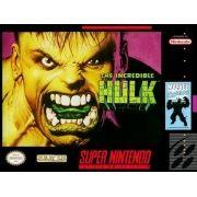 Incredible Hulk Super Nintendo 100% Original Americano