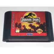 Jurassic Park Mega Drive Original Americano