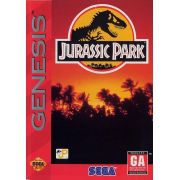 Jurassic Park Mega Drive Original Americano Completo