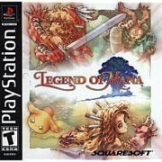 Legend Of Mana Ps1 Original Americano Completo Raridade+