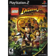 LEGO Indiana Jones Ps2 Original Americano Completo