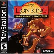 Lion King Simbas Mighty Adventure Ps1 Original Americano Completo