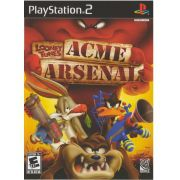 Looney Tunes Acme Arsenal  Ps2 Original Americano Completo