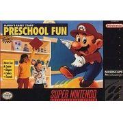 Mario's Early Years Preschool Fun Snes 100% Original Americano