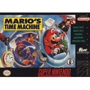 Mario's Time Machine Super Nintendo 100% Original Americano